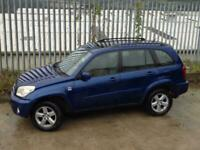2004 TOYOTA RAV-4 2.0 XT3 VVT-I MANUAL PETROL 5 DOORS BLUE