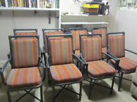 8 Chairs (Very Sturdy - High Quality)