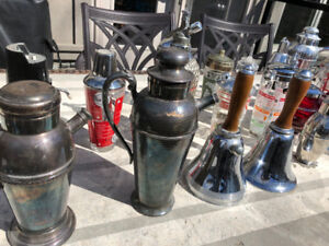 Antique Cocktail Shaker Collection