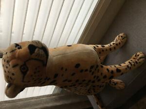 Large Cheetah Plush Stuffed Animal