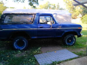 1978 Ford Bronco Project