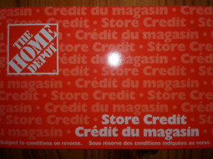 Home depot Store Credit for $200