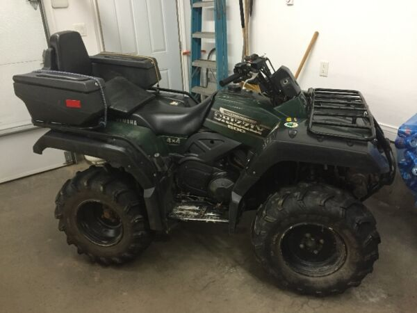 Used 2000 Yamaha Grizzly 600