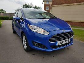 Ford Fiesta ZETEC (blue) 2013