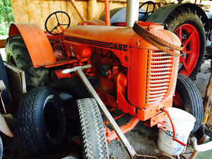 D case tractor