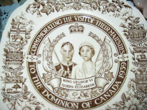 Collectible Royal plates