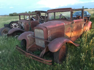 1929 Nash two identical cars $2400. All lights/chrome