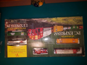 Limited addition electric train set