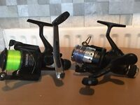 Course fishing reels