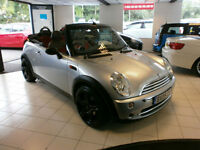 Mini Mini 1.6 ( Pepper ) One 80K FSH A GREAT VALUE CONVERTIBLE