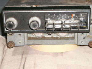 1970-74 AM-FM RADIO PLYMOUTH  OR DODGE, & OTHER DODGE PARTS