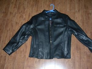Brand new Womans leather jacket.