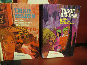 Lot of 7 Hardcover Trixie Beldon Mystery Books
