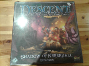 Brand new and sealed Descent:Shadow of Nerekhall expansion board