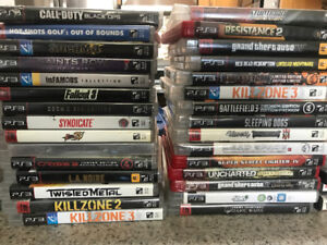 PLAYSTATION 3 WITH 62 GAMES