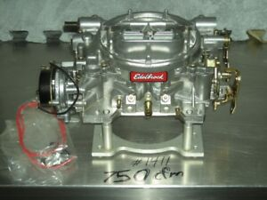 Carburateur edelbrock 750 cfm # 1411 Carburetor