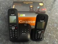 Gigaset A550a Duo Twin Cordless Phones Answering Machine