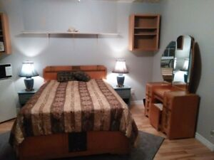 Large Furnished Room In My Home. Available Now