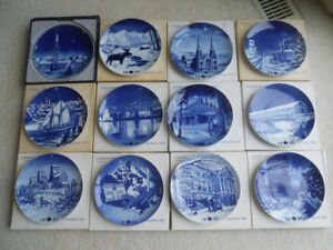 Canada Christmas Plate Collectibles Complete Set 1973-1984