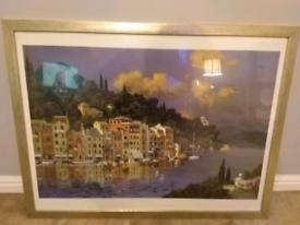 Picture Art : Landscape of Lake Como