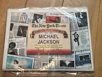 Michael Jackson New York Times Newspaper