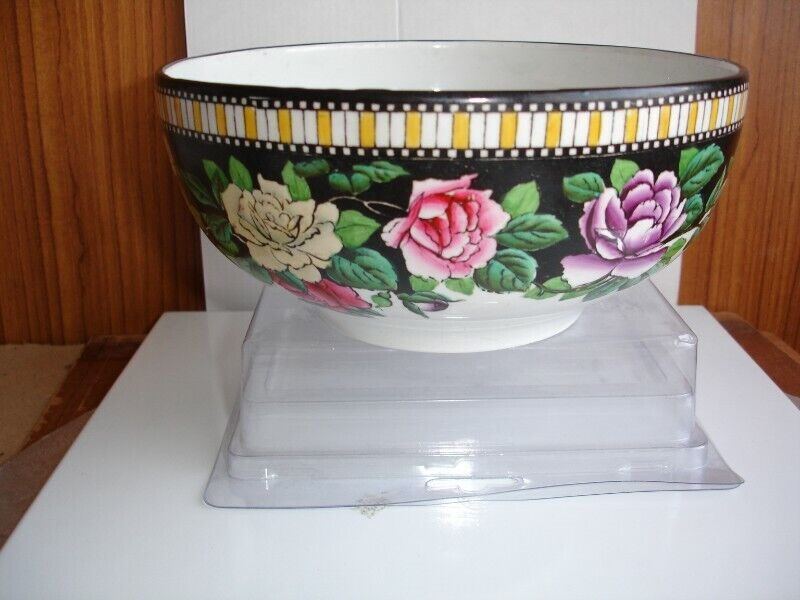 Vintage Adderley Devonia China Roses Bowl early 1900's.