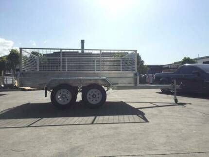 10x5 Fully Weld HOT-DIP-GAL Tandem Trailer with ELECTRIC BRAKE Browns Plains Logan Area Preview