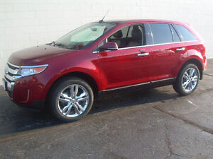 2013 Ford Edge Limited AWD SUV V-6 cyl