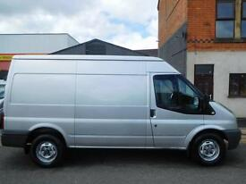 NO VAT! Ford Transit MWB medium roof panel van super rare 140BHP 3.5 ton (45)