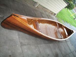 2005  GIESLER  CEDAR STRIP 16 foot CANOE LIKE BRAND NEW