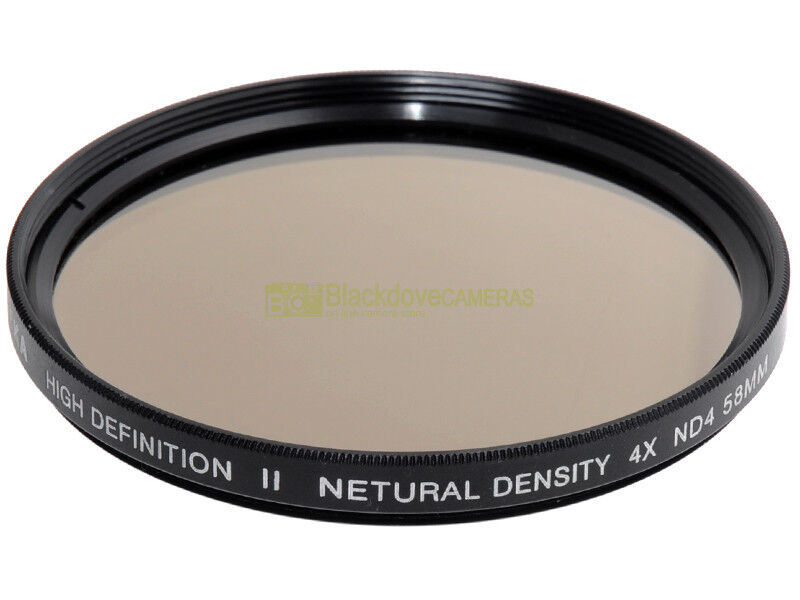 58mm. filtro Neutral Density 4x ND4 Opteka High Definition II. Neutral density.