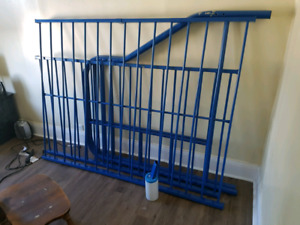 Bunk metal double bed