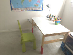 IKEA CHILDREN S DESK AND CHAIR