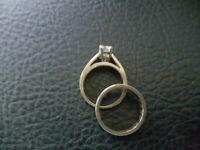 Engagement/ Wedding Ring Combo