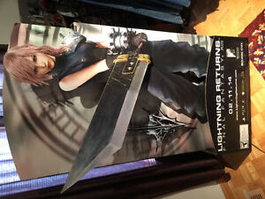 Final Fantasy 13: Lightning Returns / Thief Cardboard Standee