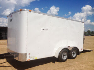 NEW 2016 7x14 Enclosed Trailer w Ramp Kitchener / Waterloo Kitchener Area image 1