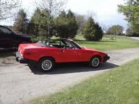 1980 TR 7 Convertible