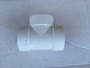 Central vac T fittings