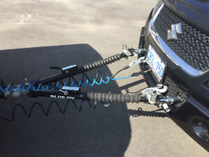 Complete blue ox towing system