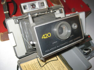 Polaroid 420 - Automatic Land Camera with attachment kit