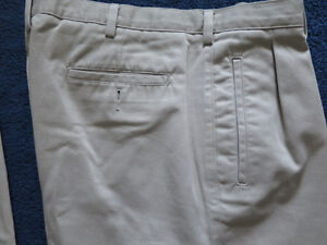 "Size 38"" waist - 34"" leg combed cotton pants...virtually new Kitchener / Waterloo Kitchener Area image 7"