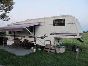 Caravane à sellette (FIFTH WHEEL) - Glendale - Golden Falcon 33'