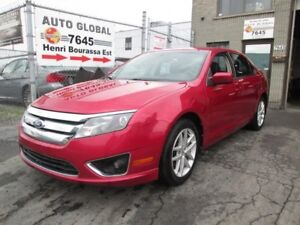 Ford Fusion AUTO,2.5L,A/C,MAGS,CUIR, TOIT OUVRANT 2011