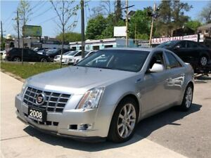 2008 Cadillac CTS w/1SB Leather|Sunroof