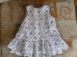 Cotton Summer Dress/ Robe d'été en coton