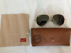 RAY BAN AVIATOR CLASSIC Sunglasses Gold, RB3025