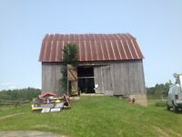 Barn and moving sale