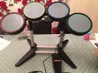 X box 360 drum set