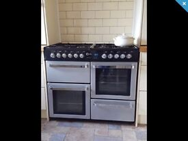 Flavel 100cm Dual Fuel Range Cooker