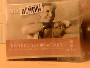 NEW NIKKEN KENKOTHERM WRIST WRAP MEDIUM - $30 value